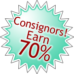 Consignors!  Earn 70%